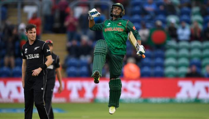 Bangladesh batsman Mahmudullah was one of the stars of their win over New Zealand the last time the teams met in an ODI, at the 2017 Champions Trophy.