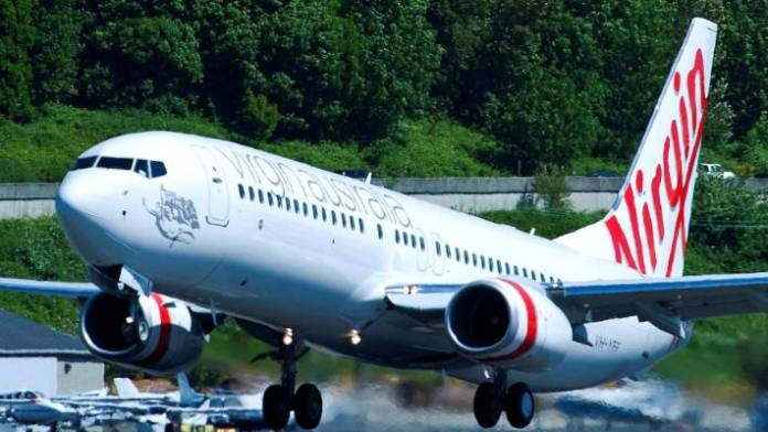 Virgin Australia operates Boeing 737-800 on all its trans-Tasman routes.