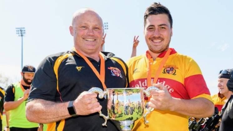 Under Matt Bartleet and captain Brett Ranga Thames Valley won the Meads Cup last year.