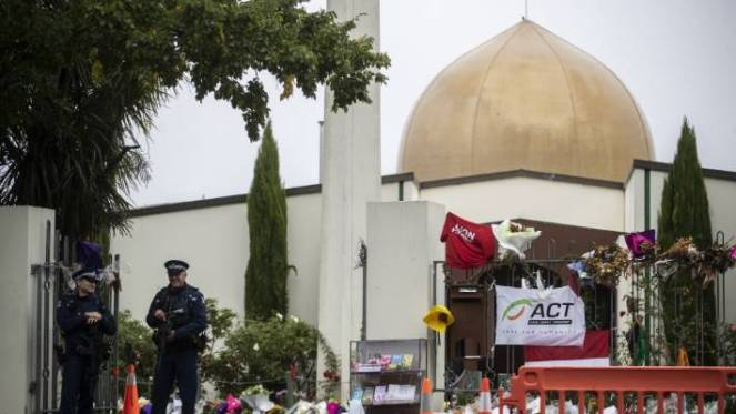 The Al Noor mosque, pictured last month, was the scene of one of New Zealand's worst atrocities.