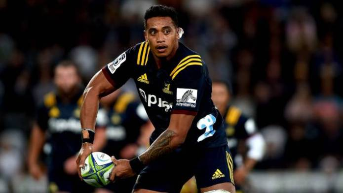 Shannon Frizell will wear No 8 jersey for Highlanders.