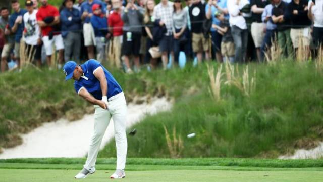 Brooks Koepka has a commanding lead at the PGA Championship.