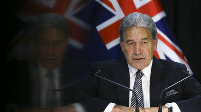 Deputy Prime Minister Winston Peters said hate speech laws had yet to be considered by his party.