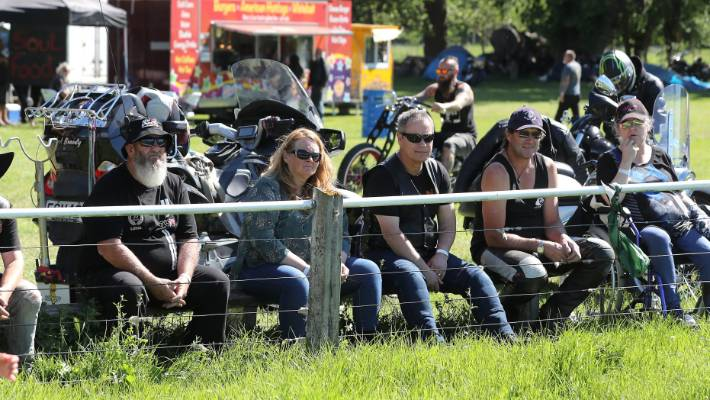 A crowd of about 800 to 900 enjoyed the Magpie Madness Motorcycle Rally at Winchester Showgrounds.