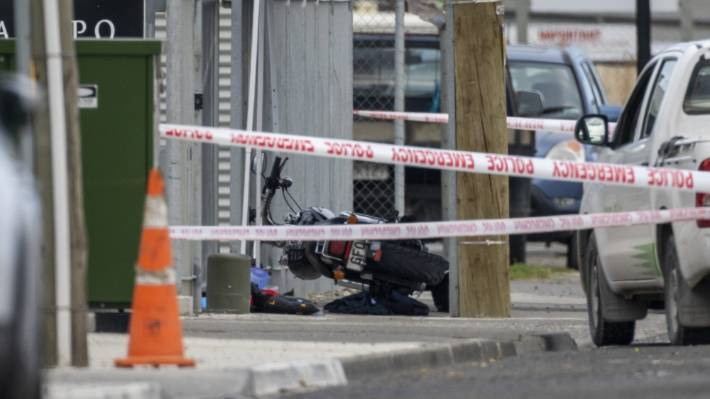 A person has died after a serious assault in Napier on Monday afternoon.