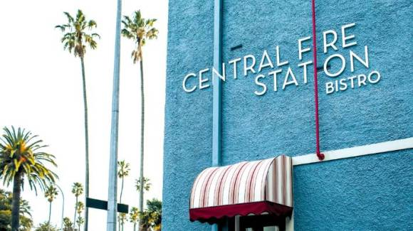 The Central Fire Station Bistro is housed in a beautiful art deco building.