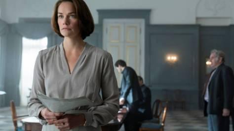 Ruth Wilson is Oslo's Mona Juul.