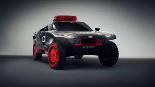 Audi reveals outstanding RS Q e-tron to tackle Dakar rally