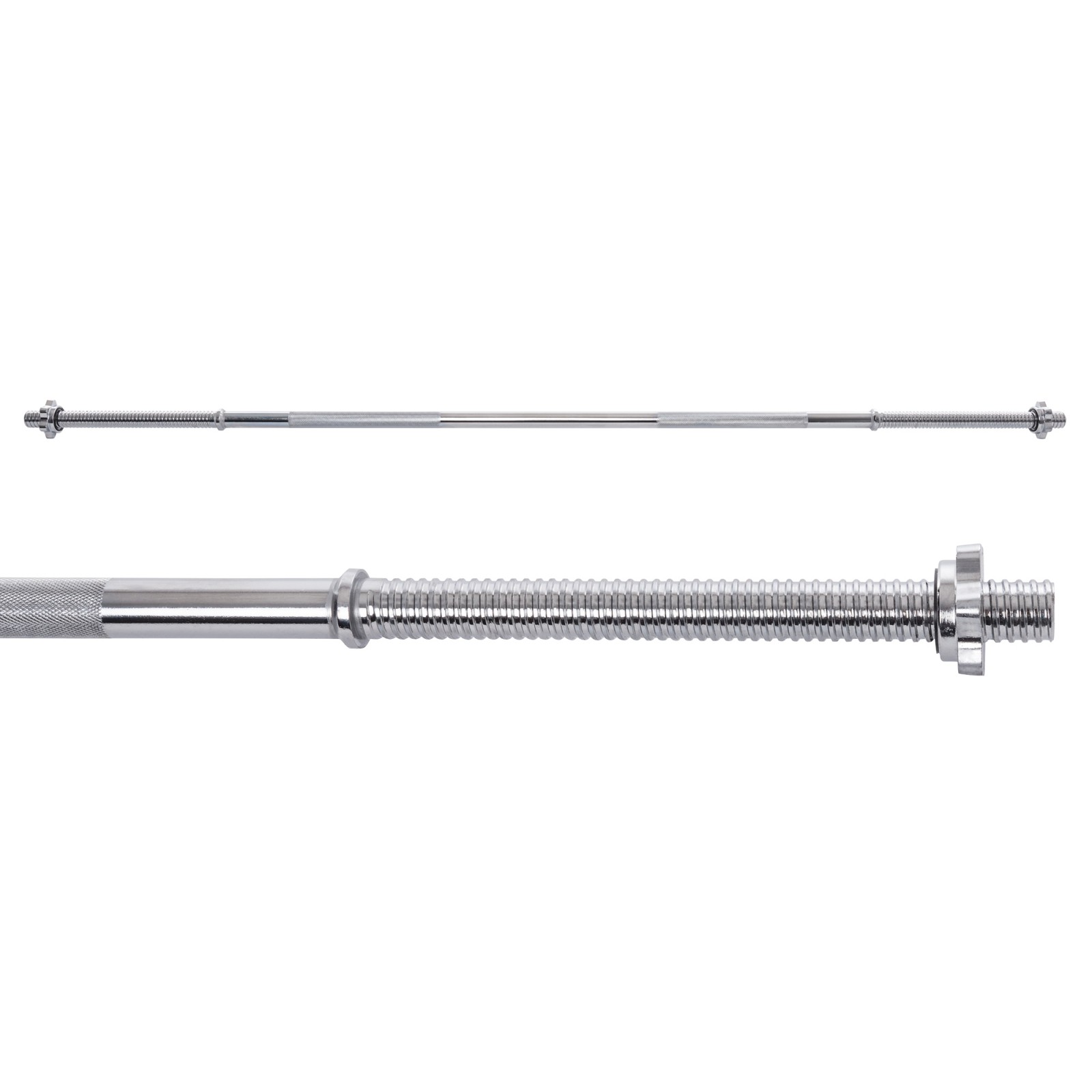 Barbell Bar With Star Collars