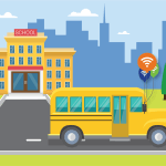 Wi-Fi enabled school buses