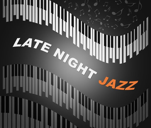 Late Night Jazz Night With Blue Jazz Quiet Night Mellow Jazz Slow