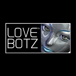 LoveBotz Face Logo on Black 250 x 250