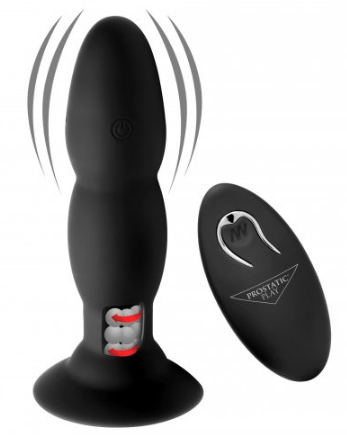 AF682 – Rim Master Rechargeable Vibrating Silicone Anal Plug