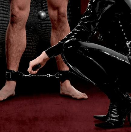 IS108 – Premium Leather Ankle Cuffs