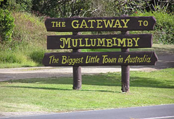Mullumbimby town sign/file