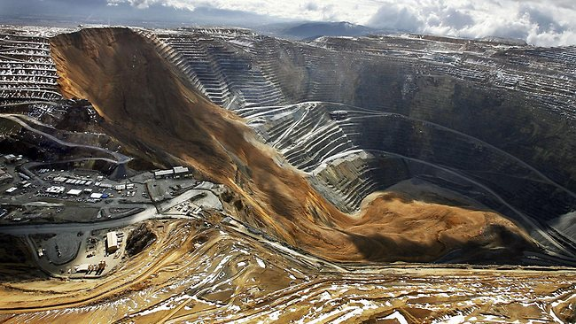 Bingham Canyon slide