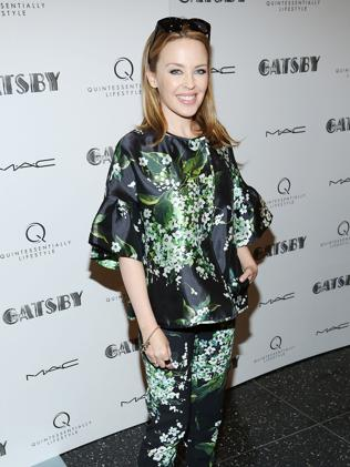 Kylie Minogue at a special screening of The Great Gatsby in May in New York City. Picture: Rob Kim/Getty Images
