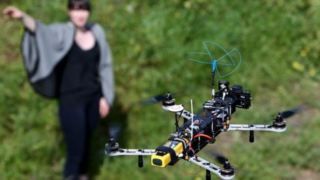 Remote controlled drones fitted with cameras are raising privacy concerns. Picture: Mike Burton