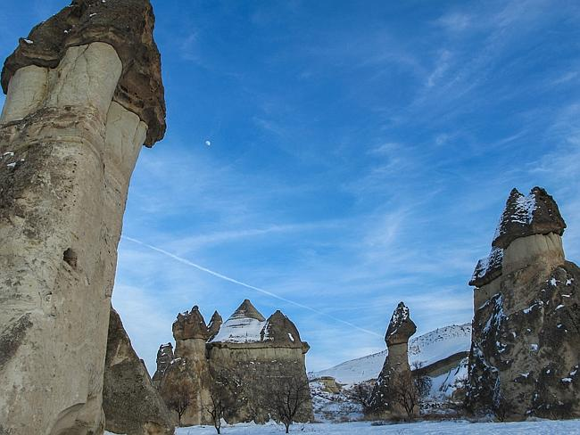 The weird sites in Cappadocia. Picture: Virtualwayfarer, Flickr