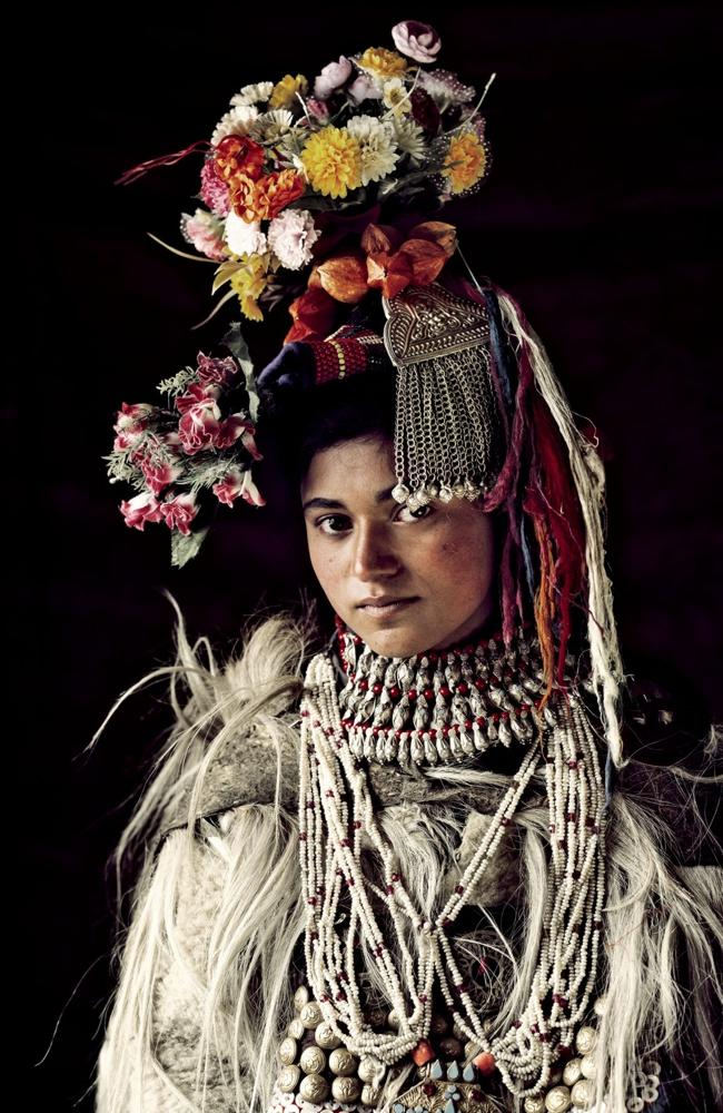 The Drokpa Tribe, which numbers around 2,500, live in three small villages in the Dha-Hanu valley of Ladakh, which is situated i