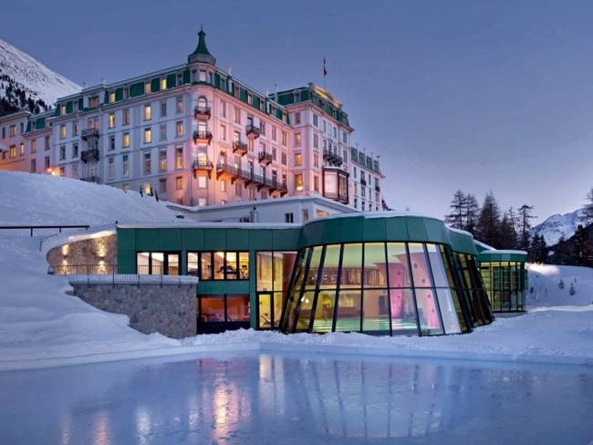 Grand Hotel Kronenhof. Picture: Supplied