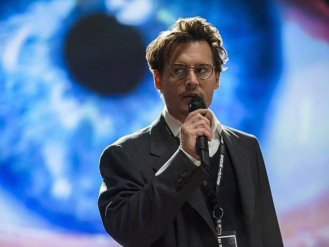 """The plot of Johnny Depp's latest movie """"Transcendence"""" was inspired by futurists like Ray"""