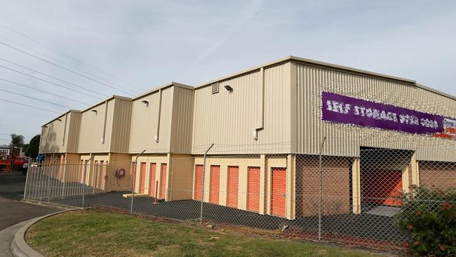 The Self Storage units IN Padstow where its believed Jamie GAO was killed / Picture: John