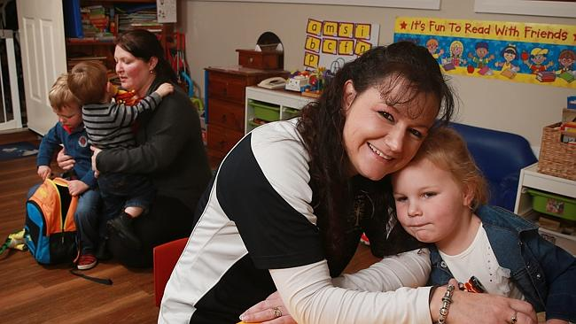 Some parents are quitting work because the cost of childcare is simply to high.