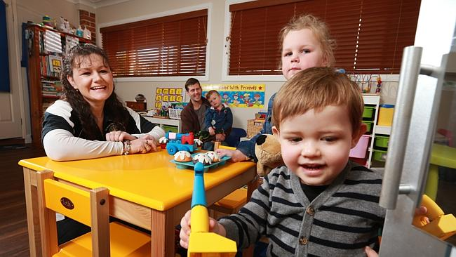 Early Childhood Educator Heather Town (left) understands the pressures families are facin