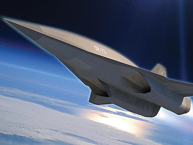 Son of Blackbird ... this conceptual image shows the proposed design for the SR-72, the u