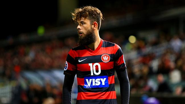 Western Sydney Wanderers' Vitor Saba has big shoes to fill.