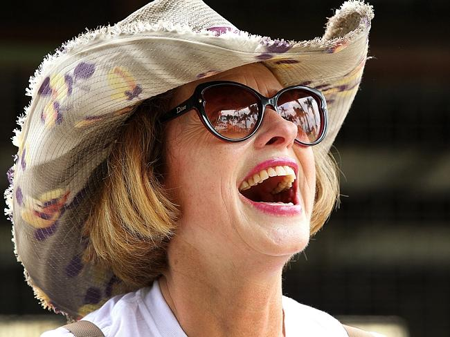 Gai Waterhouse always makes her presence felt during the Magic Millions carnival. Picture