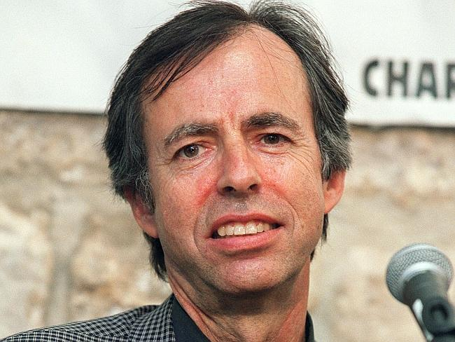 Killled ... writer Bernard Maris was murdered in the attack. Picture: AFP