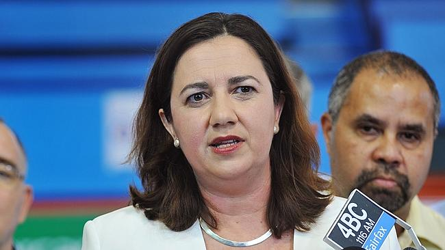 Leader of the Opposition/ALP Annastacia Palaszczuk in Cairns ahead of State Elections.