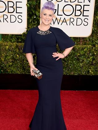 Kelly Osbourne attends the 72nd Annual Golden Globe Awards.