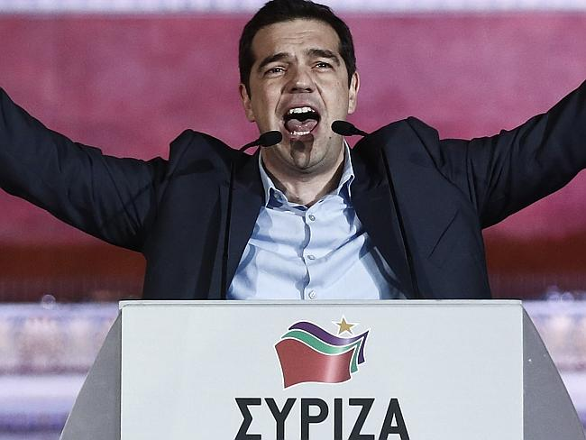 """Alexis Tsipras said his election meant austerity was a thing of the past: """"Today the Gree"""