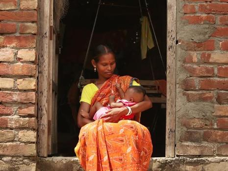 Being married young can force women into a cycle of poverty, the charity reports.