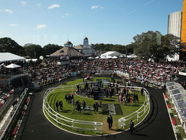 Day Two of the inaugural Championships last year. Picture: Getty Images