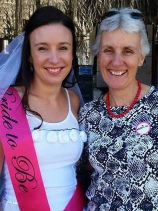 Stephanie Scott, with her mother. Picture: Facebook
