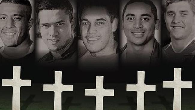 The suicides of five young footy players in two years has shone a light on the gruelling