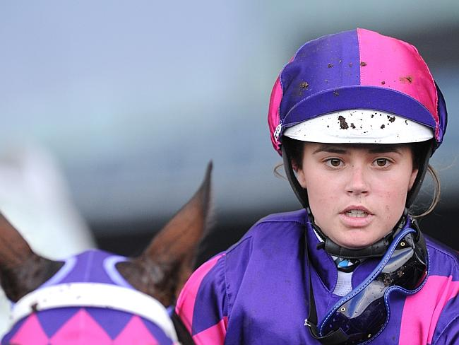 Winona Costin can consider herself unlucky not to have got the nod aboard Alberto Magic o