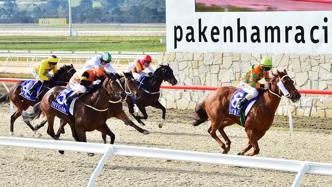 Seven's Channel 78 will have coverage of Friday's meeting at Pakenham. Picture: Derrick d