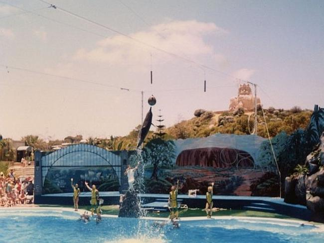 Atlantis Marine Park in its heyday.