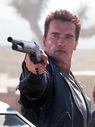 Arnie in the 1984 film The Terminator.