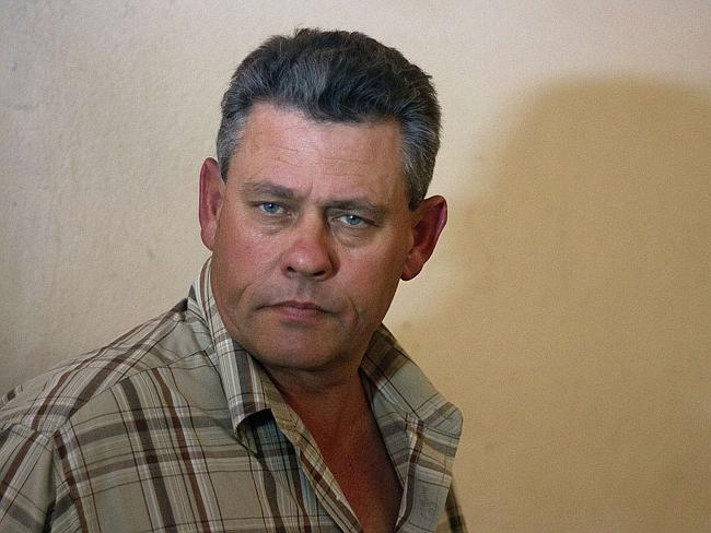 Co-accused ... Professional Zimbabwean hunter Theo Bronkhorst leaves the Magistrate's Cou