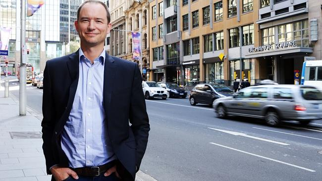Daniel Foggo, CEO of Ratesetter, which matches up borrowers and investors. Picture: Renee
