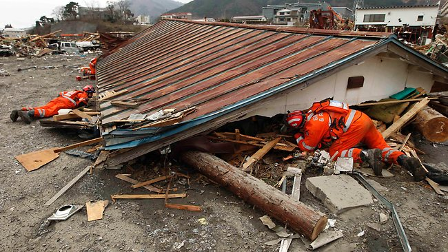 APTOPIX Japan Earthquake