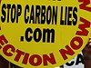 Carbon tax protest