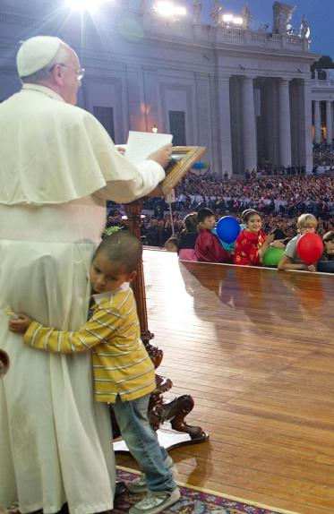 God is love, and all that. AFP PHOTO