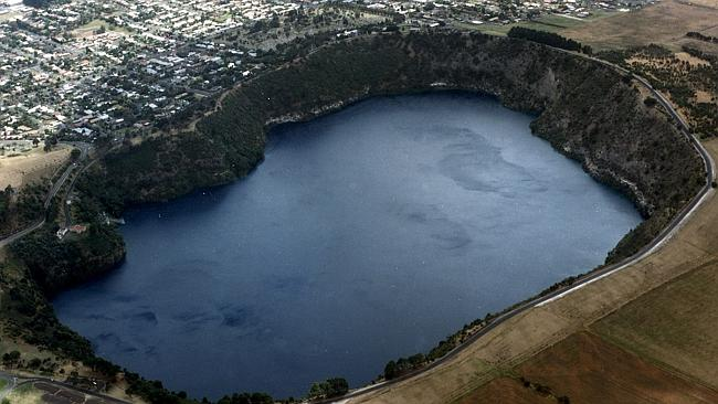 Mount Gambier's Blue ...